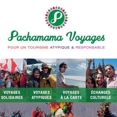 Pachamama voyages, Communication Print