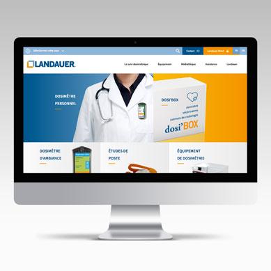 LANDAUER, site web